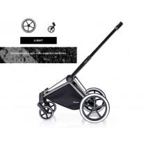 Cybex PRIAM telaio con ruote LIGTH chrome 2016
