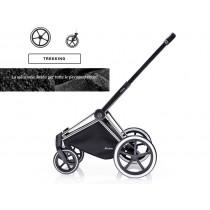 Cybex Platinum telaio Priam con ruote Trekking chrome