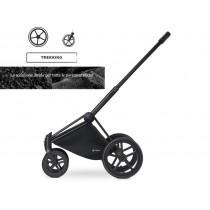 Cybex Platinum telaio Priam con ruote Trekking matt black