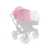 Bugaboo tettuccio parasole estensibile per Donkey soft pink