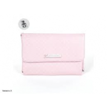 fasciatoio portatile pasito pois rosa