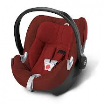 cybex aton q Mars red plus