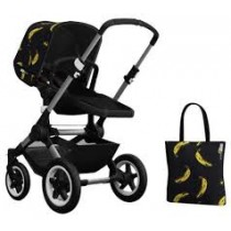 set buffalo andy warhol banana/black